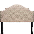 Dujour Rosario Full Arched Upholstered Headboard