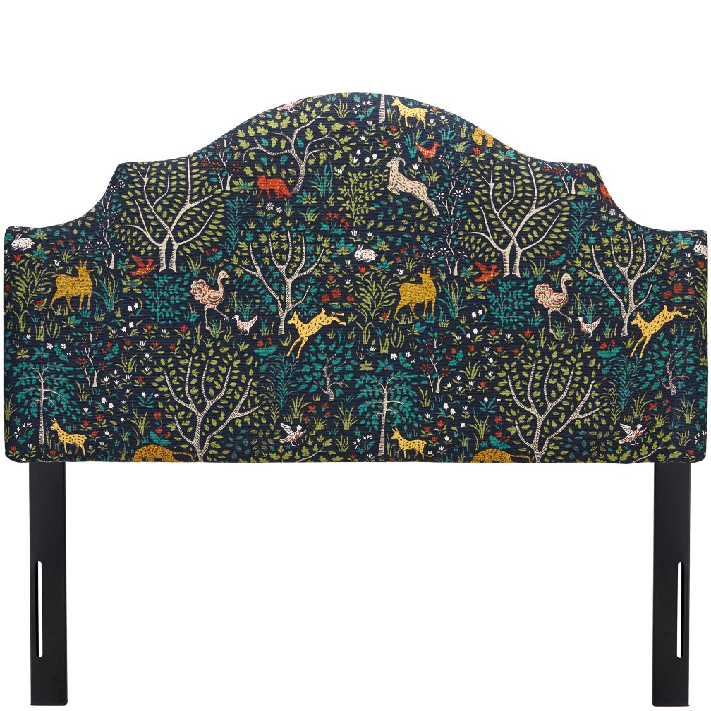 Full Arched Upholstered Headboard (Folkland Admiral)