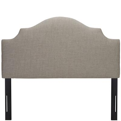 Full Arched Upholstered Headboard (Zuma Feather)