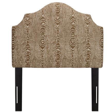 Twin Brevard Tusk Arched Headboard