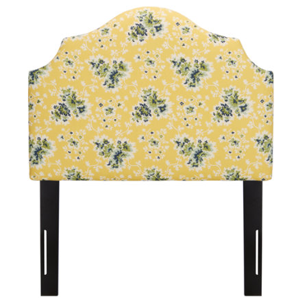 Twin Cecilia Lemon Arched Headboard