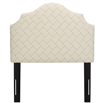 Twin Arched Headboard (DuJour Panama)