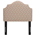 DuJour Rosario Twin Arched Upholstered Headboard