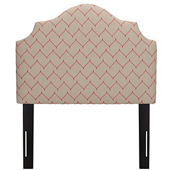 Twin Arched Headboard (DuJour Rosario)