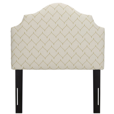 Twin Dujour Sugar Snap Arched Headboard