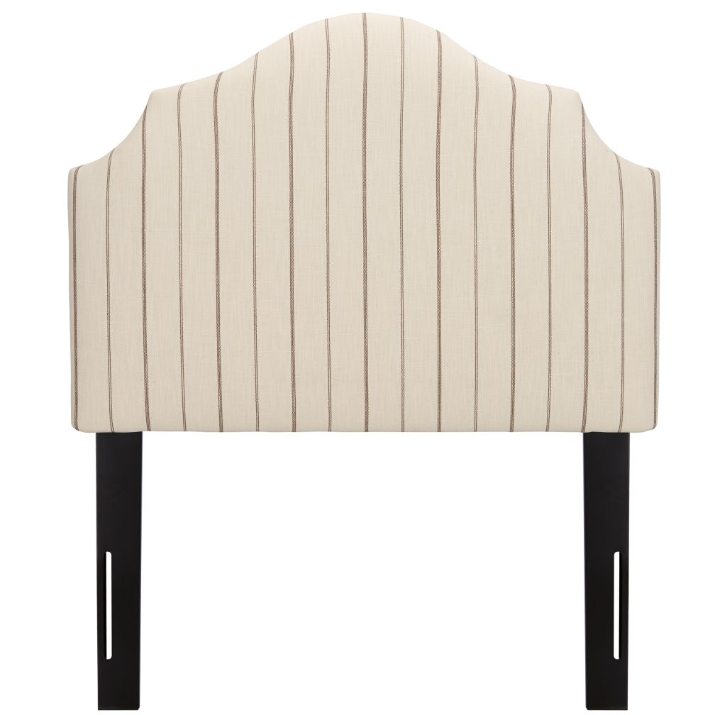 Twin Arched Headboard (Fritz Charcoal)