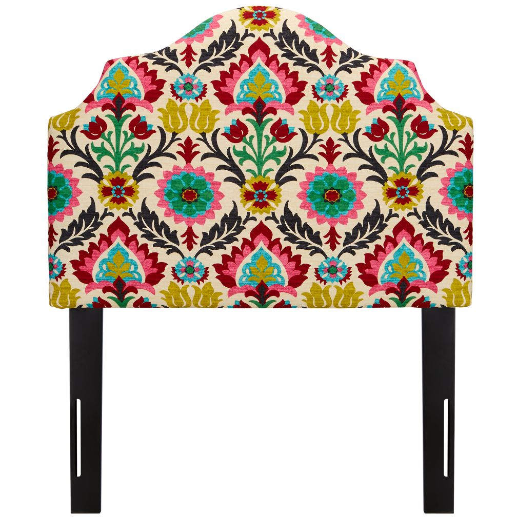 Twin Arched Headboard (Santa Maria Desert Flower)