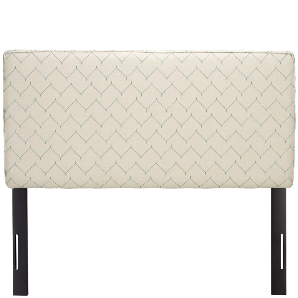 Full Upholstered Headboard (DuJour Panama)