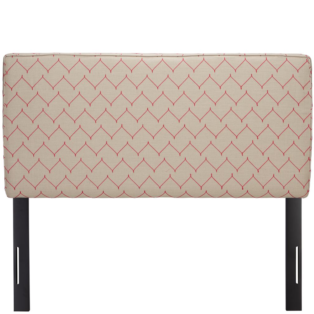 Full Upholstered Headboard (DuJour Rosario)