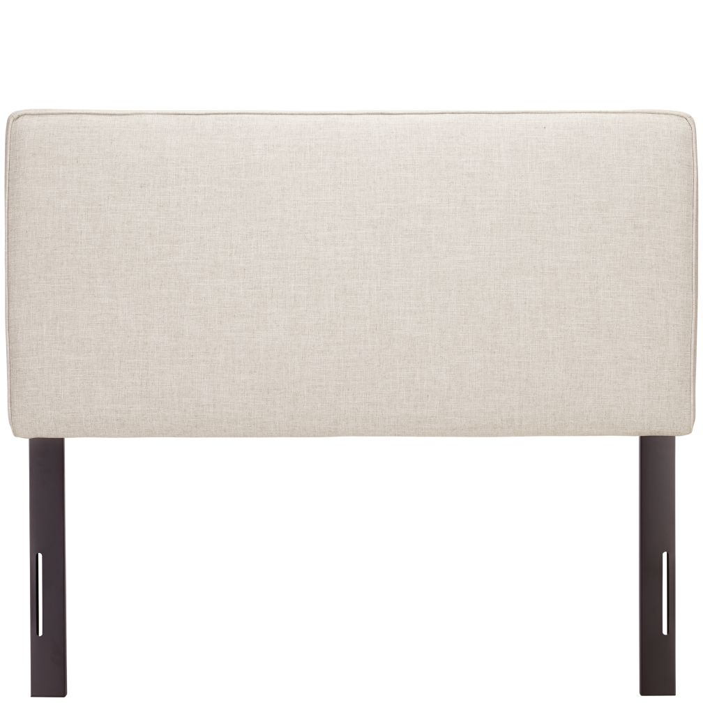 Full Upholstered Headboard (Zuma Vanilla)