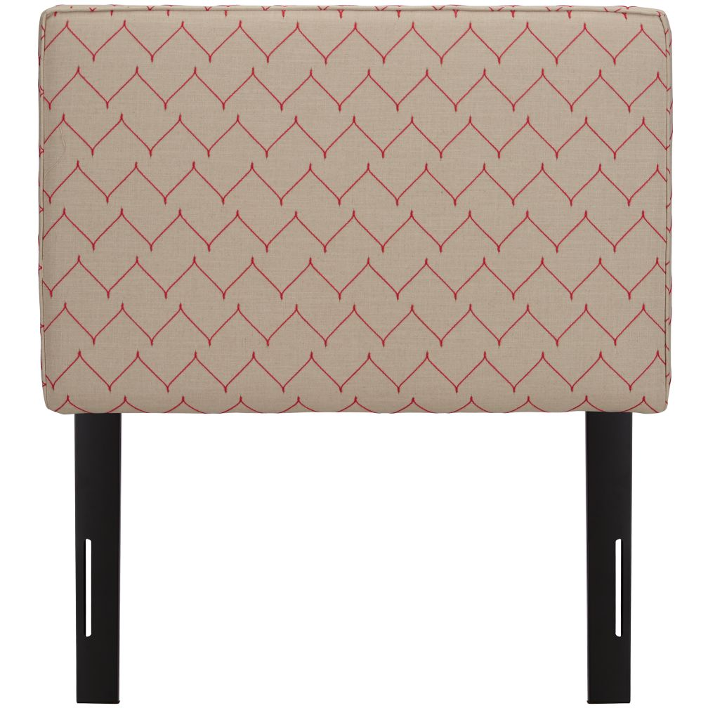 Twin Upholstered Headboard (DuJour Rosario)
