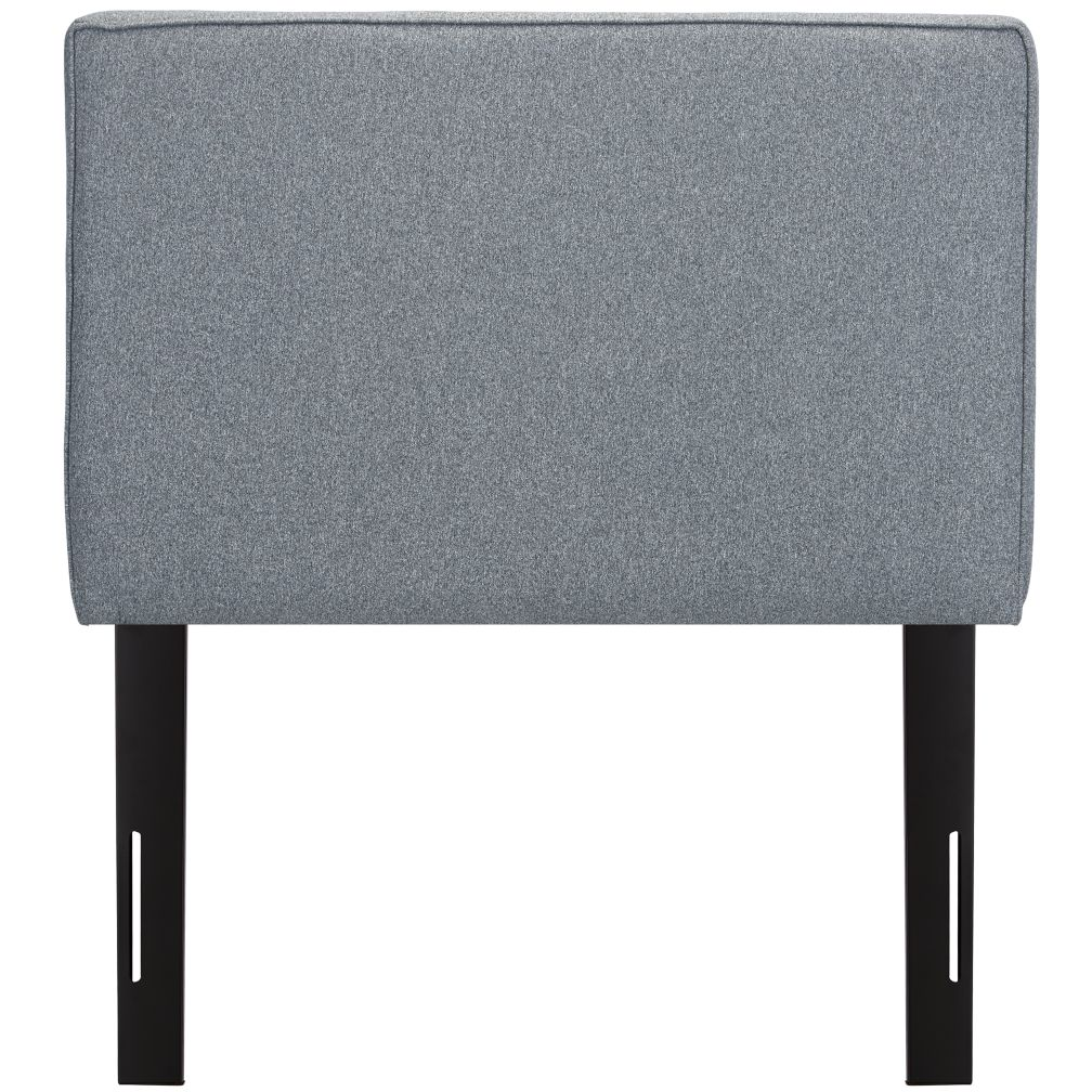 Twin Upholstered Headboard (Flair Smoke)