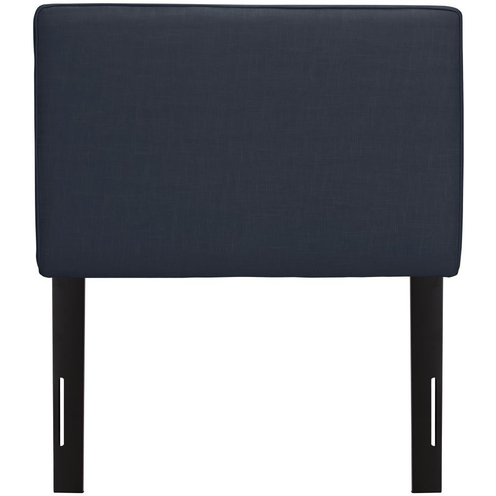 Twin Upholstered Headboard (Navy Linen)
