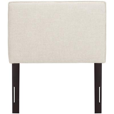 Twin Upholstered Headboard (Zuma Vanilla)