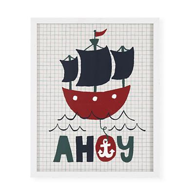 Ahoy, Hi, Hello Wall Art