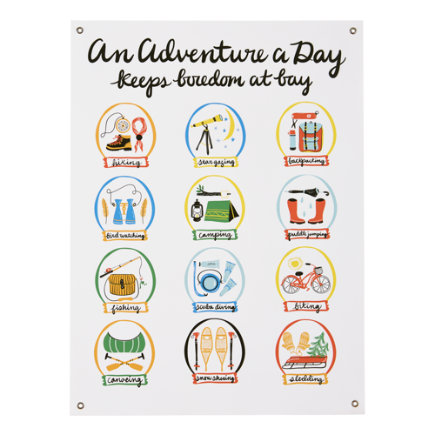 An Adventure a Day Banner - An Adventure a Day Banner