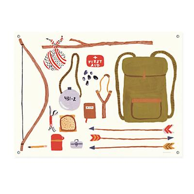 Outdoors Banner (Backpacking)