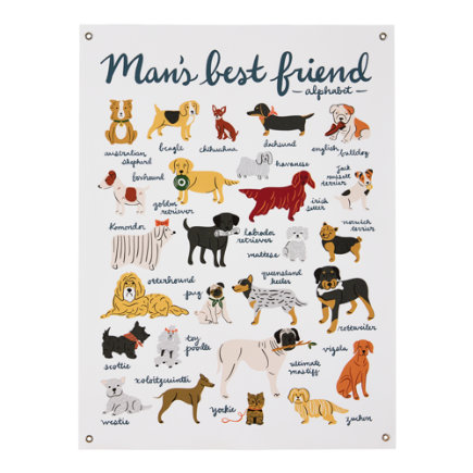 Mans Best Friend Banner - Mans Best Friend Dog Banner