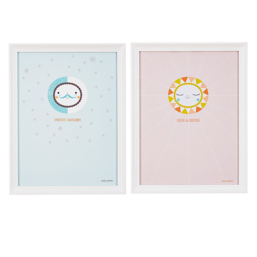 Day N' Night Framed Wall Art (Set of 2)