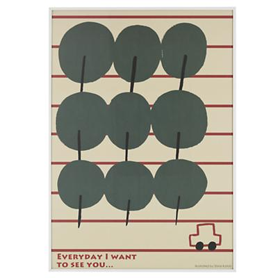 Everyday I Want to See You Framed Wall Art