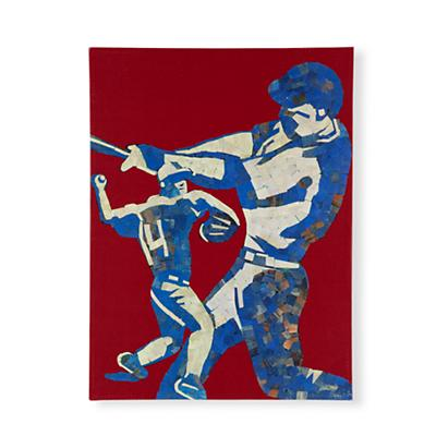 Home Team Baseball Wall Art