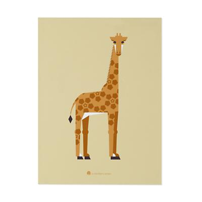 Unframed Menagerie Giraffe Wall Art