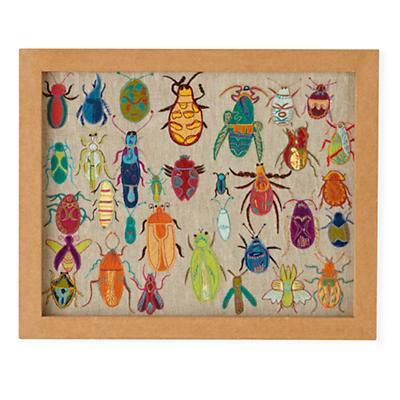 Natural History Framed Wall Art (Bugs)