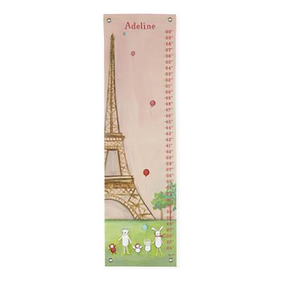 Personalized We're in Paris Growth Chart