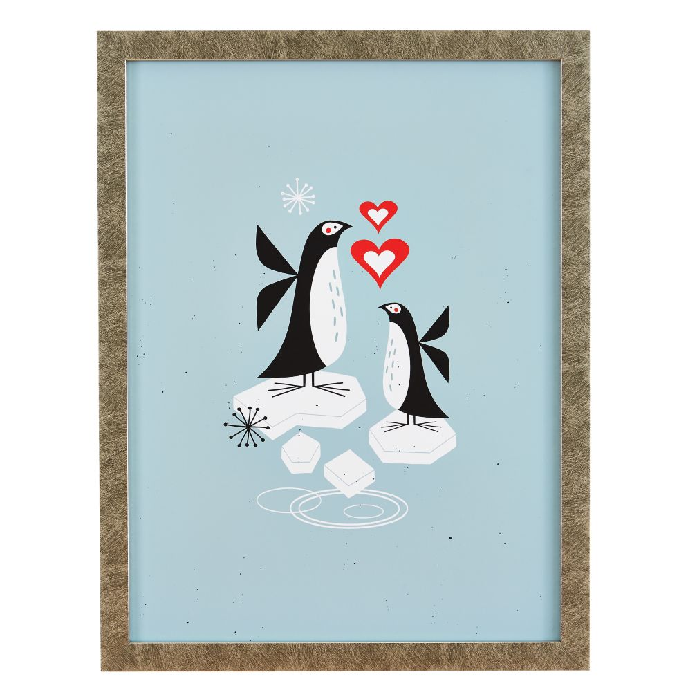 Tracy Walker Animal Wall Art (Penguin)