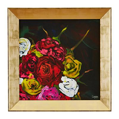 Rose Bouquet Framed Wall Art