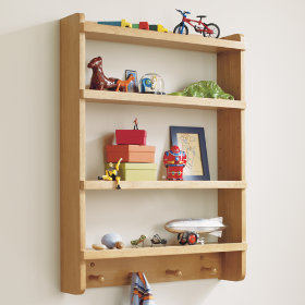 Straight and Narrow Wall Rack (Natural)