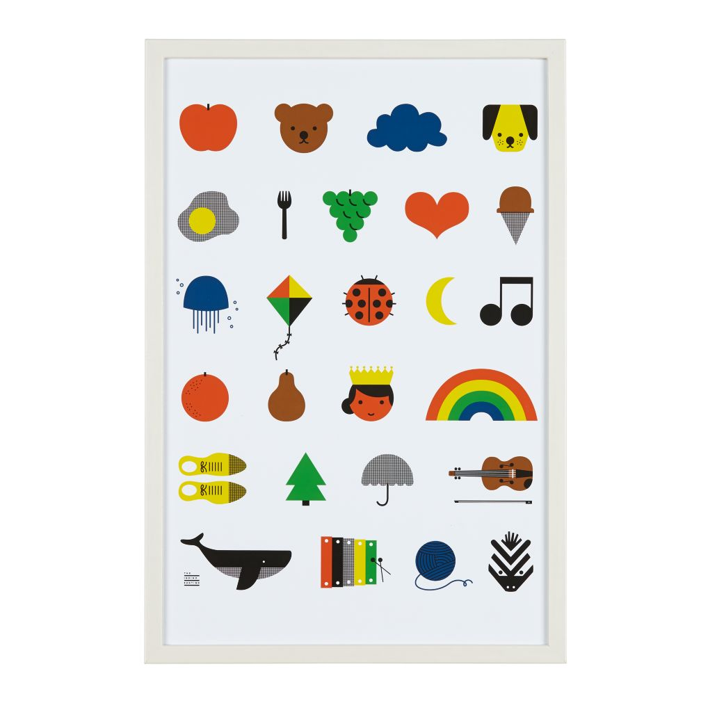 A to Z Wall Art
