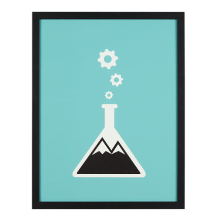 Beaker Framed Wall Art