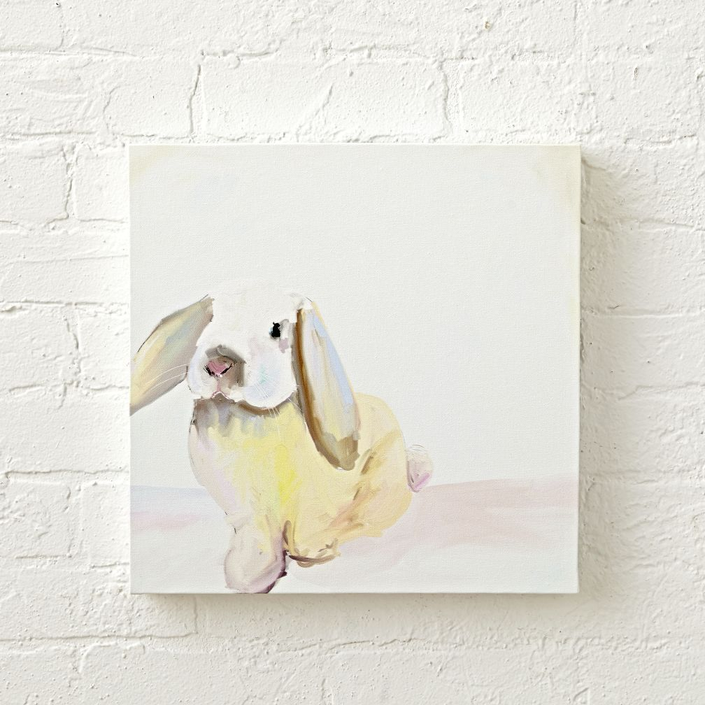Pale Hued Bunny Wall Art