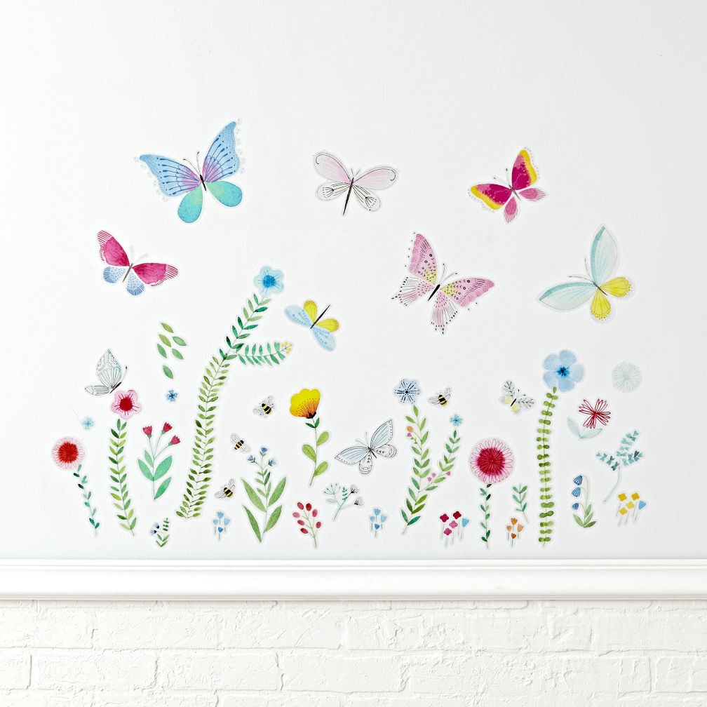 Butterfly Garden Decals