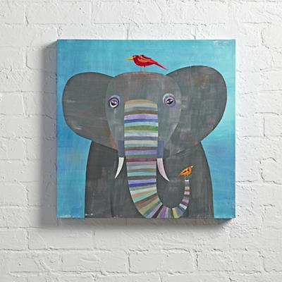 Wall_Art_Elephant_Colorful_cr