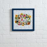 Floral Wreath Wall Art