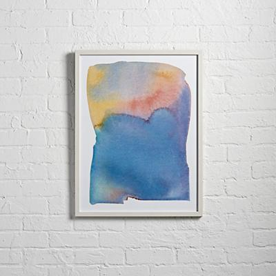 Summer Watercolor Wall Art