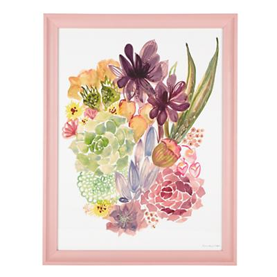 Floral Burst Wall Art