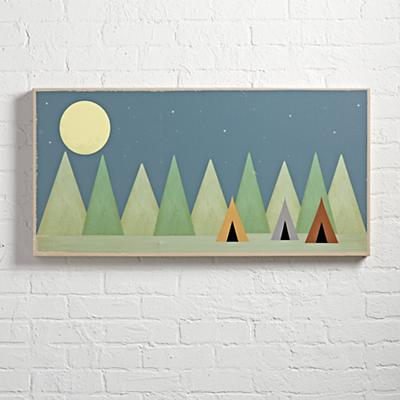 Little Tents Big Dreams Wall Art
