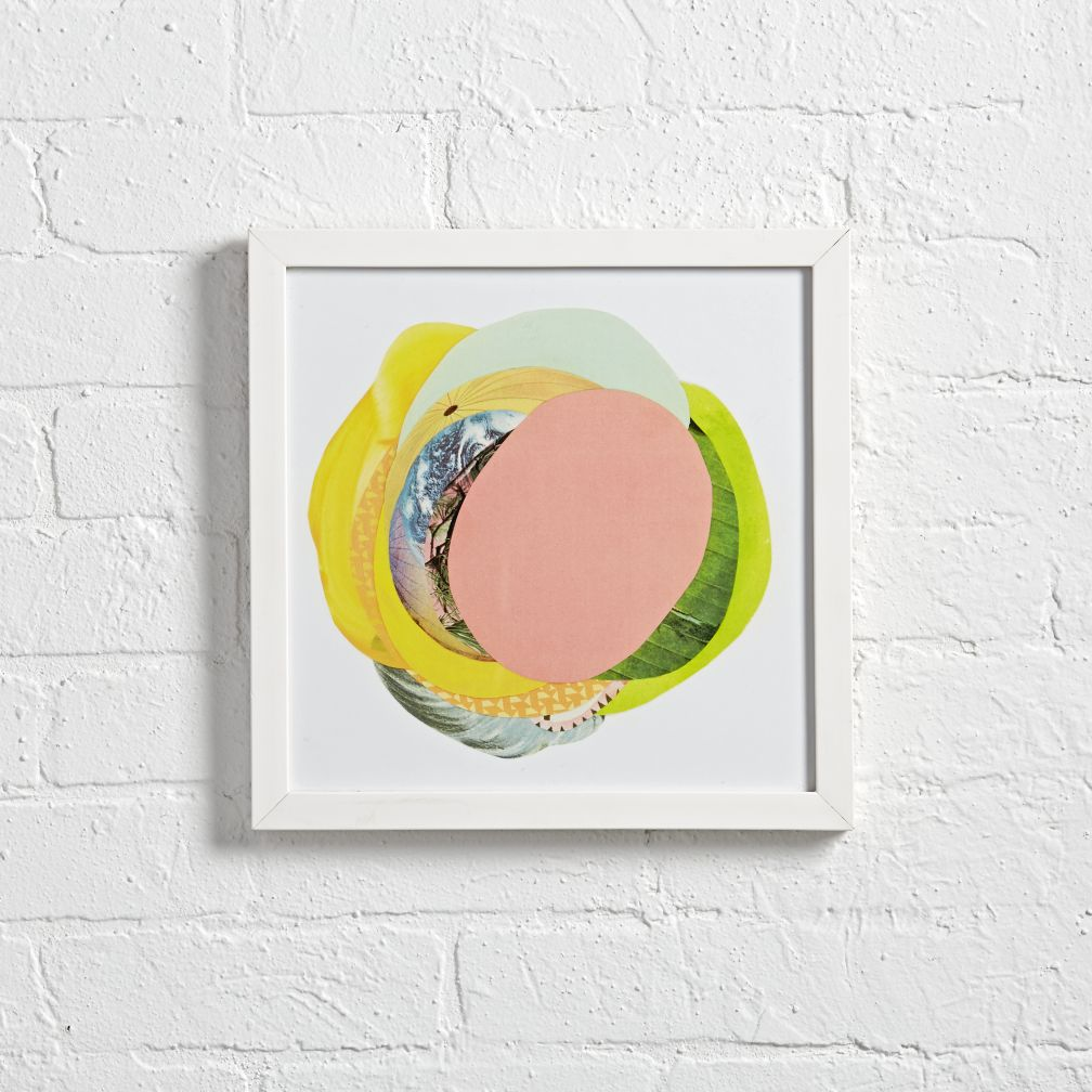 Solis Peach Wall Art