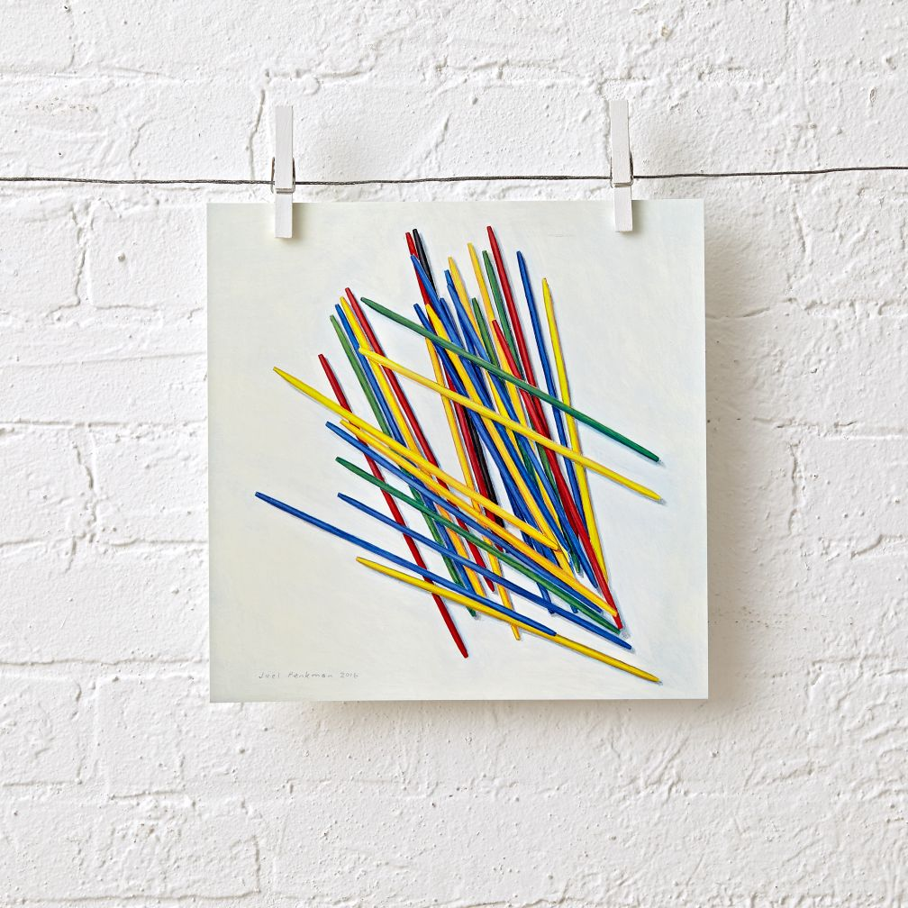 Pick Up Sticks Unframed Wall Art