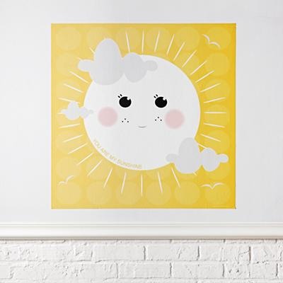 You Are My Sunshine Poster Decal