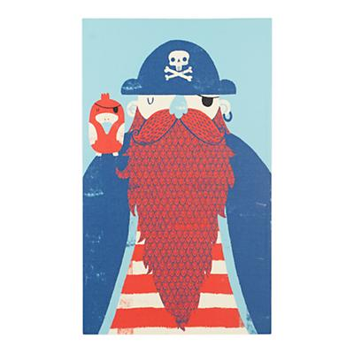 Old Captain Redbeard Wall Art
