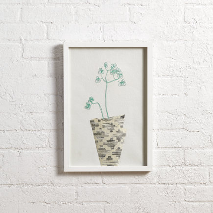 Still Life Wall Art (Blue) - Blue Still Life Wall Art