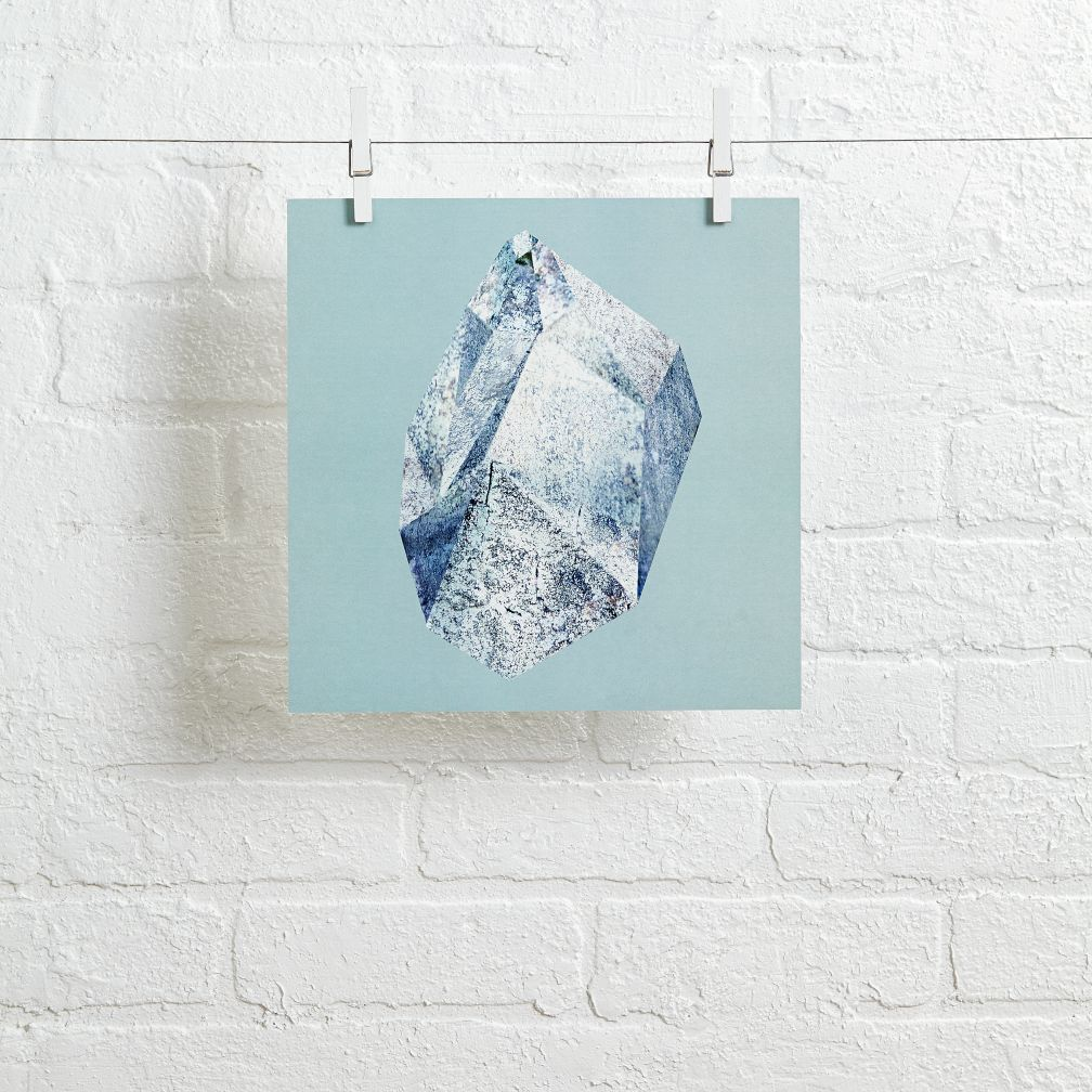 Gem Wall Art (Blue)