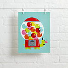 Turtle Gumball Hooray Today Wall Art