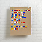 Nautical Flag Wall Art.