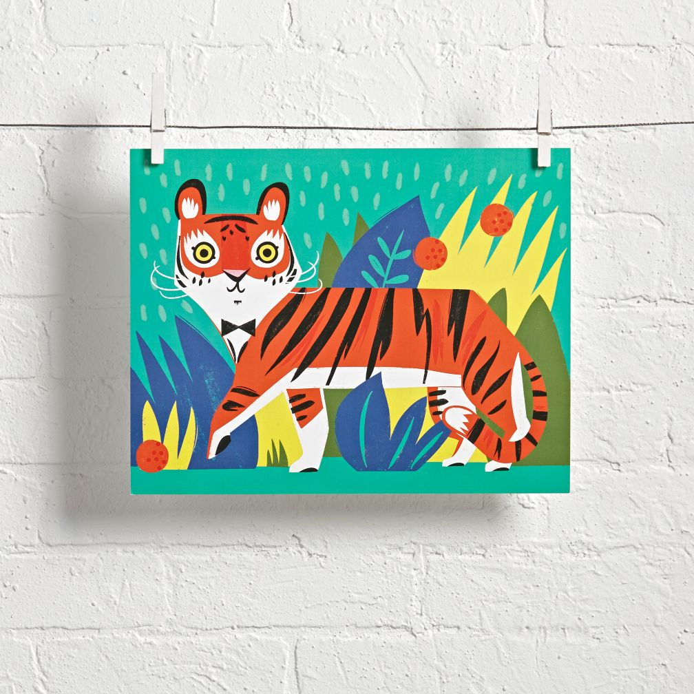 Jungle Tiger Wall Art