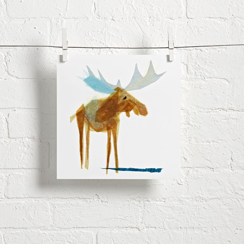 - Moose Wall Art